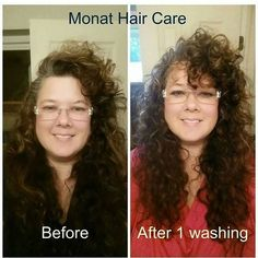 Elizabeth Pennywell: MONAT isn't just for straight hair. Look how great t… | FindSalesRep.com