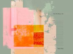 """Saatchi Online Artist: Octave Pixel; Photography 2013 Collage """"la rivière enchantée"""""""