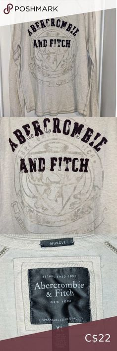 Muscle Shirts, Abercrombie Fitch, Shop My, Best Deals, Long Sleeve, Check, Closet, Shopping, Style