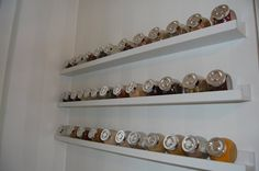Accesories & Decors,Wall Mounted Ikea Spice Rack Hang On White Wall Kitchen…