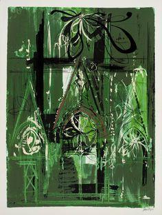 John Piper, 'Abbeville' 1972