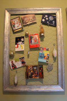 Top 10 Tuesday {13}: Creative Ways to Display Christmas Cards ...
