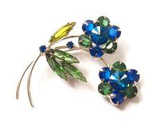 Blue blossoms de René Contrecoeur no Etsy