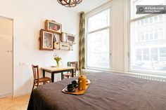 DIY suitcases on the wall. Amstel Nest | Airbnb