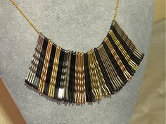 Bobby Pin necklace! I should wear this when I do Bridal Parties lol