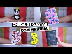 CRIANDO KIT DE MATERIAL ESCOLAR CASEIRO SEM GASTAR NADA #3   KIM ROSACUCA - YouTube