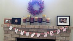 Valentines Kids Craft. Cards paper garland.