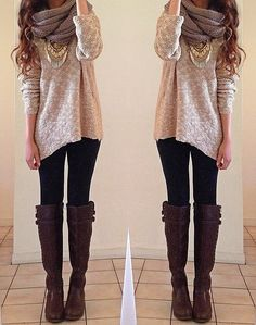 Winter love. ❄ Beautiful winter outfit.
