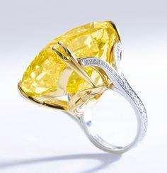 Diamant jaune Graff Vivid Yellow de 100,09 carats - Sotheby's