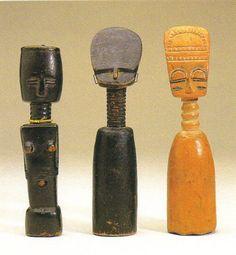 Akan Akua'Ba Fertility Figure, Brong, Ghana http://www.imodara.com/post/103395403209/ghana-akan-akuaba-fertility-figure-brong