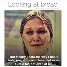 This just makes me laugh way too hard!!! Perfect representation of my love hate relationship with carbs!!! #carblover #10thingsihateaboutyou #90skid #ihatethewayidonthateyou #lowcarblife #healthyliving #Adkins #lchf #ketosisdiet #southbeachdiet #weightlossjourney #weightloss #support #lowcarb #thehungrygames #init2winit #instafunny #ighumor by finding_nikorella