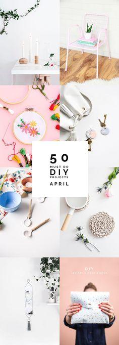 50 Must do DIY Proje