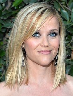 Top 15 Blonde Hairstyles - Daily Makeover: I think I could pull off this Reese cut...