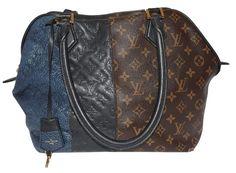 Limited Edition Marine Tote Handbag Tricolor Shoulder Bag – Bagriculture