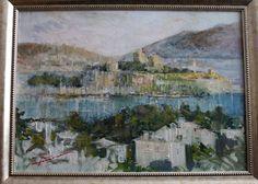 Oil painting  Bodrum Turkiye
