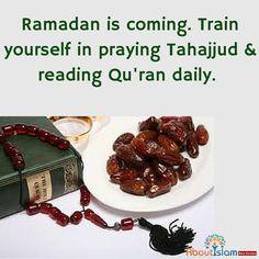 Ramadan is coming so prepare yourselves.