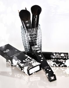 RBR BRUSH COLLECTION 'Face Contour 012', 'Blusher 002', 'Eyeliner 008', 'Crease 011'