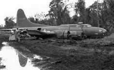 """Boeing B-17F-25-Bo, s/n 41-24548, Ship No 167 """"The Horse"""", Tadji, N.Guinea"""