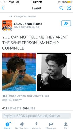 """My family literally looked at Adrian and went """"why is Calum at the olympics"""" whoops my obsession is spreading"""