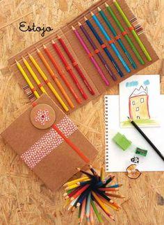VOLTA ÀS AULAS: Materiais escolares criativos - Fotos - UOL Educação