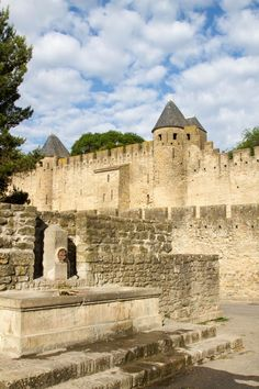 Who doesn't love a walled Medieval city?  If you are like me and love to wander among small cafes, shops, and museums you will want to head for the prettiest of all walled towns, Carcassonne.  Click here to find out more! ~ReflectionsEnroute