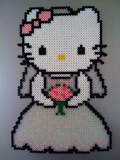 hello kitty perler bead pattern   Hello Kitty Wedding