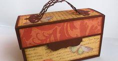 Hallo ihr Lieben! Habt ihr ein Envelope Punch Board und Lust eine kleine Tasche mit Fächern zu basteln? Sie bietet Platz für Aufkleb...