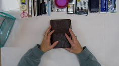 Traveling Art Kit. This video shows in detail what artist Lorraine Bell uses when she travels to create her amazing art journals and stories...