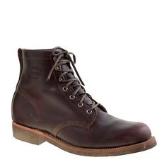 Plain-Toe Boots by Chipewa for J.Crew
