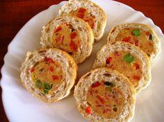 Slovak Recipes, Bread Rolls, Healthy Snacks, Muffin, Brunch, Food And Drink, Appetizers, Eggs, Breakfast