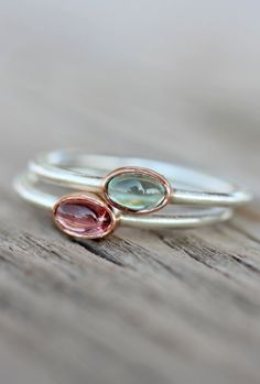 Tourmaline Rings...