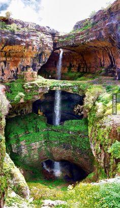 The Cave of Three Bridges.