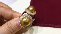 Pearl Rings, Pearl Jewelry, Gemstone Rings, Golden South Sea Pearls, Tahitian Pearls, South Seas, Necklaces, Bracelets, Heavenly