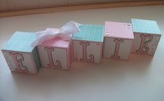 Custom Order - Pink - Aqua - Polka Dot. $3.00, via Etsy.