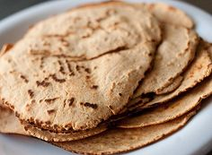 Low carb tortillas (made from peanut flour and coconut flour)
