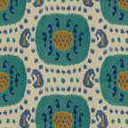 fabric caramel and aqua blue - Google Search
