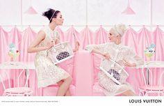 Louis Vuitton Campagne Printemps/Eté 2012.