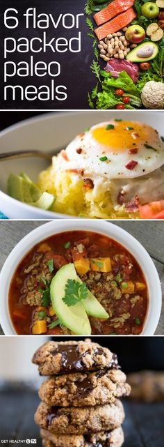 """Maybe you've heard of people """"going Paleo"""" before, or maybe you steer clear of specific diets altogether. But either way, incorporating more Paleo meals into your week is a healthy idea. Why? Paleo recipes focus on lean proteins, fruits, veggies, and healthy fats from nuts, seeds, fish, and grass-fed meat. Getting well-balanced meals with these nutrients can help you stay fuller, longer, and fuel your workouts—especially if you're strength training!"""