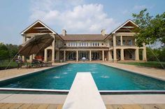 Swimming pools evoke a sense of nostalgia New Adventures, Swimming Pools, Nostalgia, Mansions, House Styles, Building, Outdoor Decor, Home, Design