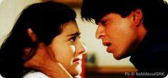"""SRK and Kajol in scene from """"DDLJ"""""""