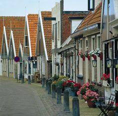 Leuke pittoreske huisjes | Texel Beautiful Nature Scenes, Beautiful Places, Windmill, Wonders Of The World, Night Life, Belgium, Places To Travel, Netherlands, Going Dutch