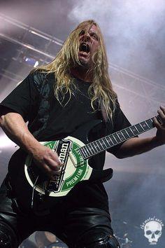 Jeff Hanneman - Slayer, fuck, what a sad day....