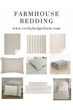 Guide to Neutral Farmhouse Style Bedding Country Kitchen Flooring, Country Dining Rooms, Country Furniture, Country Decor, Rustic Decor, Farmhouse Style Bedding, Farmhouse Bedrooms, Farmhouse Interior, Farmhouse Ideas
