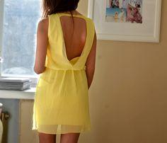 yellow overdose // possible graduation dress?    http://www.zara.com/webapp/wcs/stores/servlet/product/us/en/zara-us-S2012/189503/754510/DRESS%2BWITH%2BDOUBLE%2BLAYER%2BAT%2BTHE%2BBACK