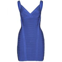 Hervé Léger Nadya Bandage Dress ($1,333) ❤ liked on Polyvore