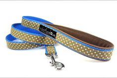 Dog leash spotted blue 550 Paracord, Dog Leash, Personalized Items, Dogs, Blue, Stuff To Buy, Pet Dogs, Doggies