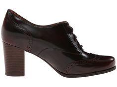 Clarks Ciera Pier Burgundy Leather  6pmcom