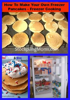 How To Make Your Own Freezer Pancakes – Freezer Cooking