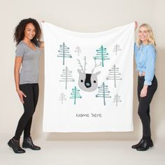 Wrap up with a Christmas blanket from Zazzle! Soft & warm throws, fleece, baby blankets & more all in a huge range of designs. Discover your cozy blanket today!