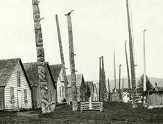Haida Art, Tlingit, Old Trees, Totem Poles, Big Tree, First Nations, Pacific Northwest, North West, West Coast